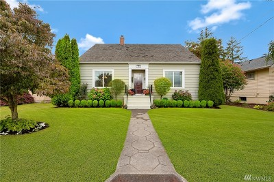 Lynden Single Family Home For Sale: 710 Liberty St