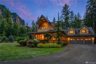 North Bend WA Single Family Home For Sale: $1,995,000