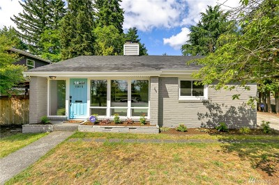 Shoreline Single Family Home For Sale: 15015 27th Ave NE