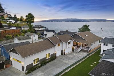 Camano Island Single Family Home For Sale: 350 Shore Dr