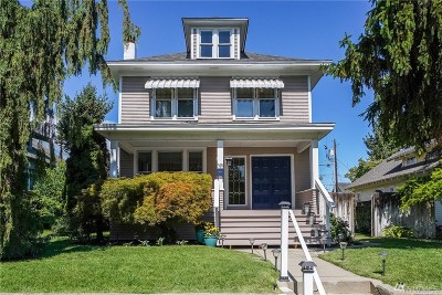 Wenatchee Single Family Home Contingent: 510 Douglas St