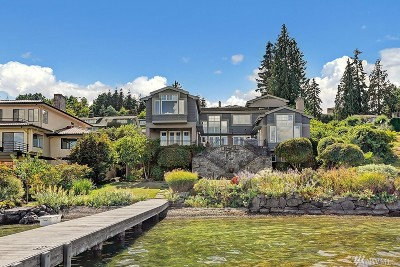 Mercer Island Single Family Home For Sale: 7268 N Mercer Way