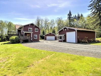 Mason County Single Family Home Sold: 9100 SE Lynch Rd
