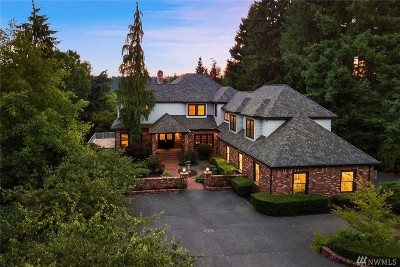 Woodinville Single Family Home For Sale: 14312 155th Ave NE