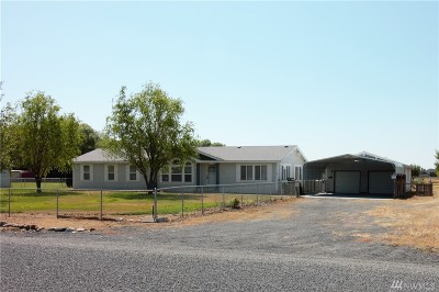 Moses Lake Single Family Home For Sale: 7275 Wild Goose Lane NE