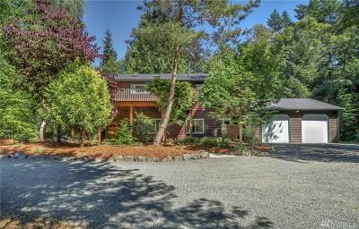 Hansville Single Family Home Pending: 6744 Buck Lake Rd NE