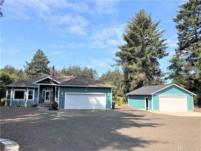 Grays Harbor County Single Family Home For Sale: 201 Bass Ave NE