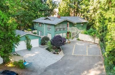 Shoreline Single Family Home For Sale: 1614 NE 199th Ct