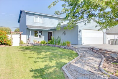 Moses Lake Single Family Home For Sale: 1613 S Skyline Dr