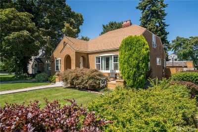 Wenatchee Single Family Home For Sale: 912 1st St