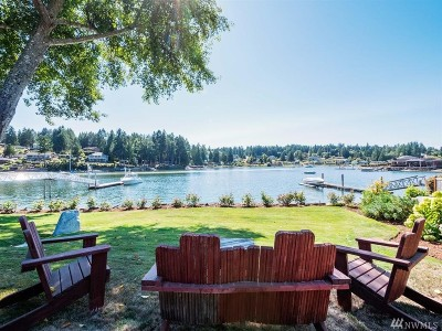 Gig Harbor Single Family Home For Sale: 3514 E Bay Dr NW