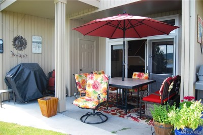 Chelan County, Douglas County Condo/Townhouse For Sale: 11415 S Lakeshore Rd #6