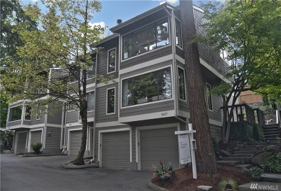 Bellevue Condo/Townhouse For Sale: 1627 107th Ave SE