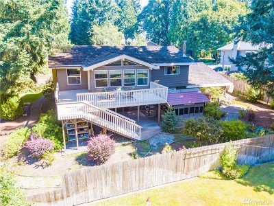 Kirkland Single Family Home For Sale: 10535 NE 122nd St