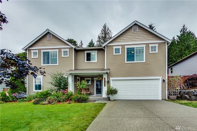Poulsbo Single Family Home Pending: 20893 Nordby Dr NW