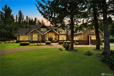Granite Falls Single Family Home For Sale: 18606 78th St NE