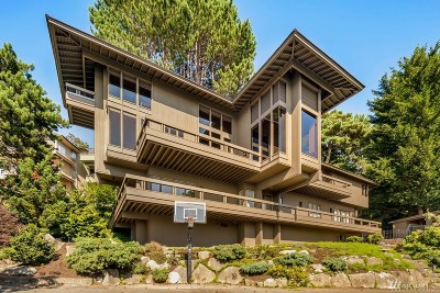 Seattle Single Family Home For Sale: 2587 Magnolia Blvd W