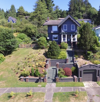 Grays Harbor County Single Family Home For Sale: 220 W 10th St
