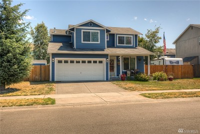 Yelm Single Family Home Pending Inspection: 15113 Carter Lp SE