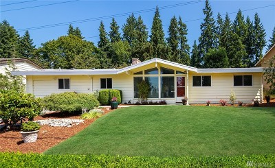 Bellevue Single Family Home For Sale: 5504 123rd Ave SE