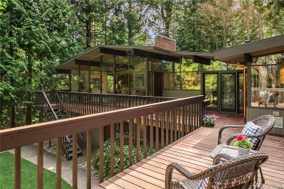 Bellevue Single Family Home For Sale: 2636 109th Place NE