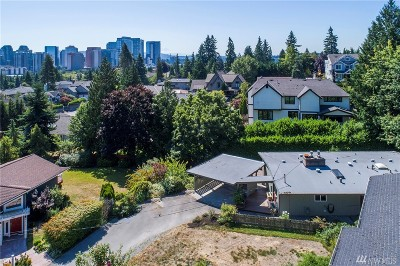 Bellevue Single Family Home For Sale: 9911 NE 16th Place