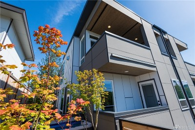 Kirkland Condo/Townhouse For Sale: 227 5th Ave #A