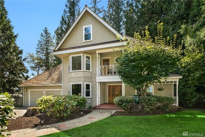Sammamish Single Family Home Contingent: 421 242nd Place NE