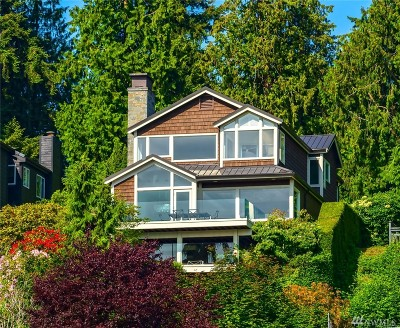Yarrow Point Single Family Home For Sale: 4238 95th Ave NE