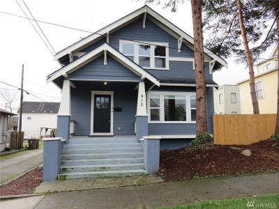 Tacoma Single Family Home For Sale: 912 Earnest S Brazill St