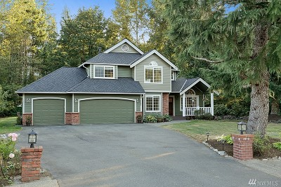 North Bend WA Single Family Home For Sale: $750,000