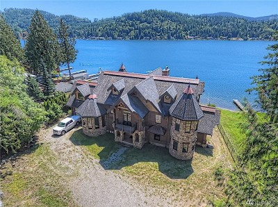 Olympia Single Family Home For Sale: 2317 Summit Lake Shore Rd NW