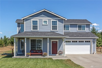 Yelm Single Family Home Pending: 17227 123rd Ct SE