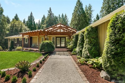 Snohomish Single Family Home For Sale: 19916 65th Ave SE