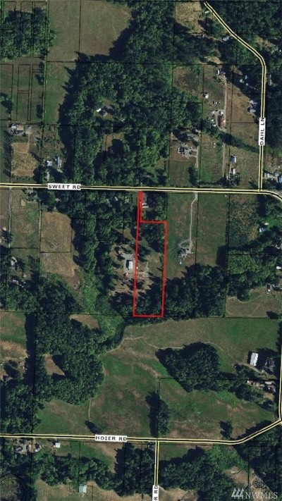 Blaine Residential Lots & Land For Sale: 3923 Sweet Rd