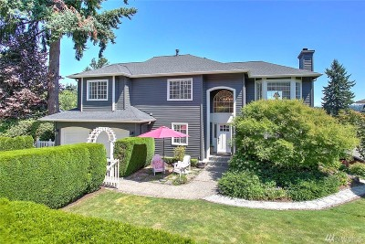 Kenmore Single Family Home For Sale: 18606 66th Ave NE