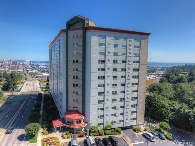 Tacoma Condo/Townhouse For Sale: 3201 Pacific Ave #1203