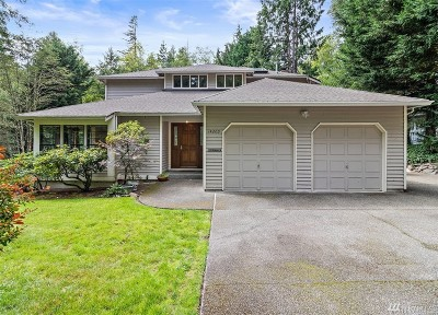 Silverdale Single Family Home Contingent: 14205 Crown Point Place NW