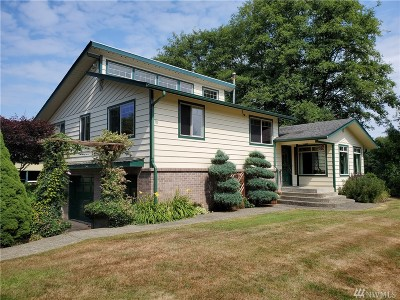 Grays Harbor County Single Family Home Pending Inspection: 86 Taylors Ferry Rd