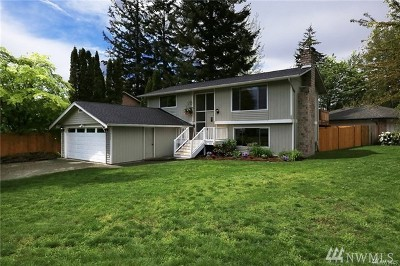 Bothell Single Family Home For Sale: 17408 Valley Circle Dr