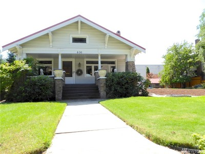 Cashmere Single Family Home For Sale: 406 Cottage Ave