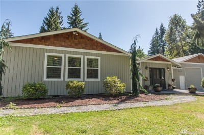 Stanwood Single Family Home For Sale: 1500 276th St NW
