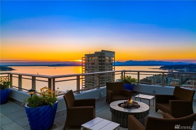 Seattle Condo/Townhouse For Sale: 2033 2nd Ave #PH2