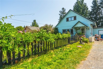 Sedro Woolley Single Family Home For Sale: 1223 Railroad Ave