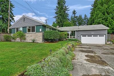 Shoreline Single Family Home For Sale: 1132 N 166th St
