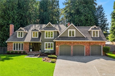 Woodinville Single Family Home For Sale: 19705 NE 169th St
