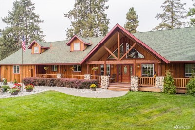 Chelan County Single Family Home For Sale: 9922 Saunders Rd