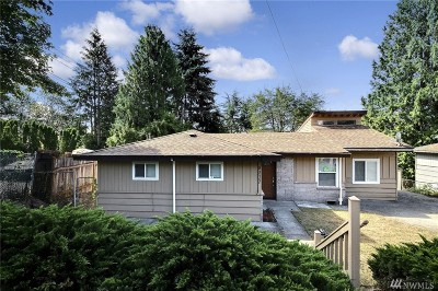 Seattle Single Family Home For Sale: 8237 S 130th St