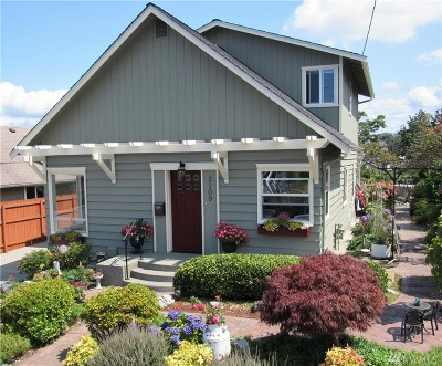 Everett Single Family Home For Sale: 3109 Tulalip Ave