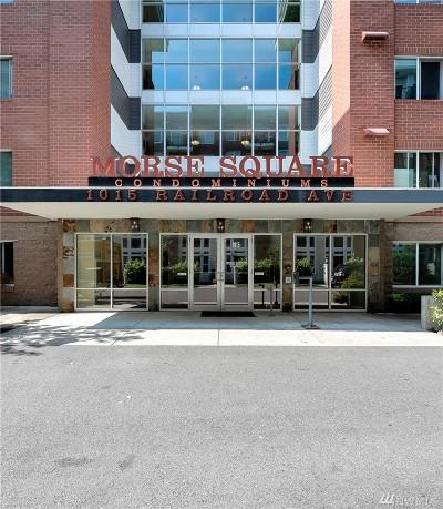 Bellingham Condo/Townhouse For Sale: 1015 Railroad Ave #405